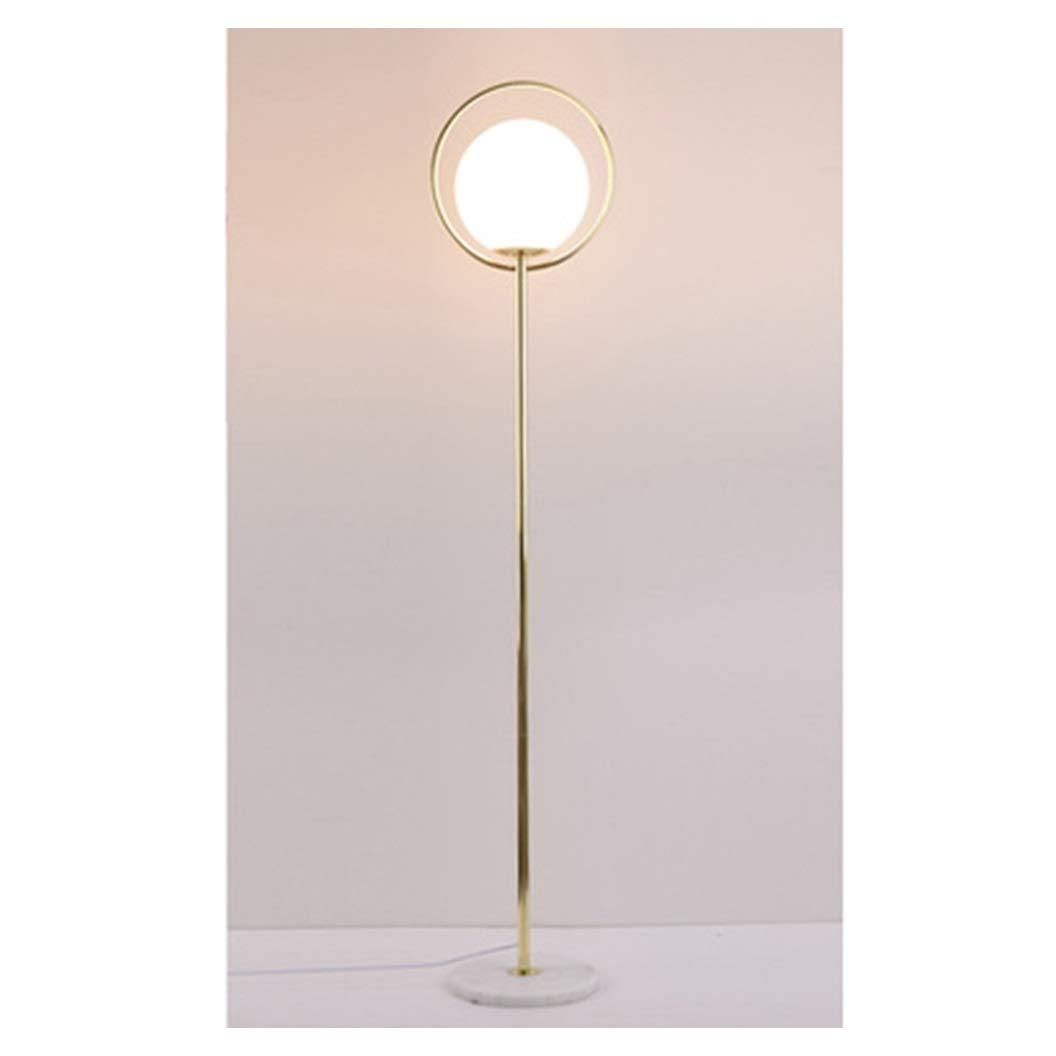 NZNB フロアランプリビングルームのソファーベッドルーム遠隔研究装飾クリエイティブ垂直テーブルランプ -35 フロアスタンド (色 : ゴールド, サイズ さいず : 小さな ちいさな) B07S2NDFXZ ゴールド 小さな ちいさな
