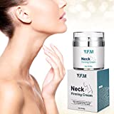 Neck Firming Cream, Y.F.M Firming Neck Anti-Wrinkle Cream, Neck Cream Tightening & Lifting Moisturizer for Loose Anti Aging Neck Firming