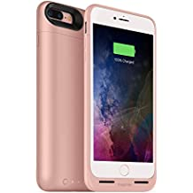 mophie juice pack wireless  - Charge Force Wireless Power - Wireless Charging Protective Battery Pack Case for iPhone 7 Plus – Rose Gold