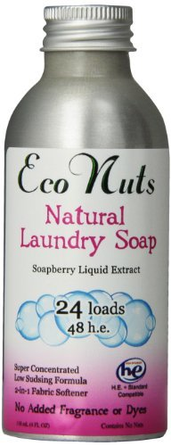 Eco Nuts Natural Laundry Soap, 4 Ounce by Eco Nuts (Soap 4 Eco Ounce)