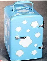 SL&BX Cow refrigerator 4l mini refrigerator car fridge car dual student refrigerator-A