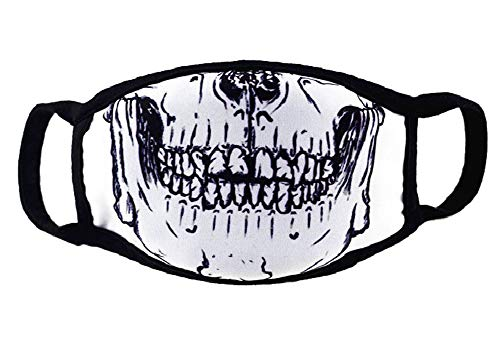 The Skeleton Jaw Sanitary Mouth Mask, The Fashionasta Collection,H2]()