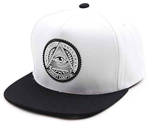 Amazon.com  sujii ILLUMINATI Archetype Hip Hop Boys Snapback Hat Trucker  Baseball Cap Black   Whte  Sports   Outdoors e4bb0b62a90