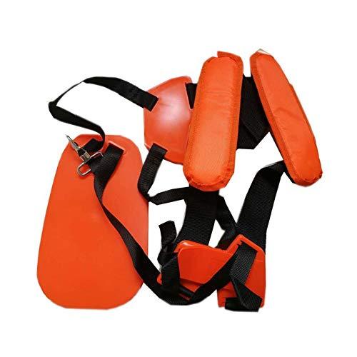 JORSION Trimmer Shoulder Strap, Trimmer Harness Strap Double Shoulder Mower Nylon Belt Easily Adjustable Brush Cutter Garden Lawn Camera