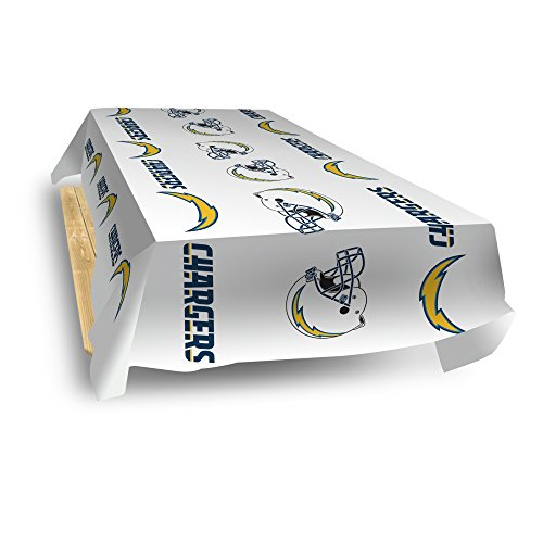 Rico Industries NFL Los Angeles Chargers 8-Foot Table Cover (Pool Table Nfl Cover)