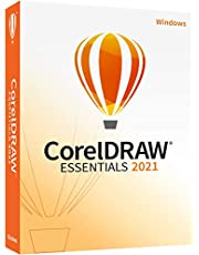 CorelDRAW Essentials 2021 | GraphicsDesignSoftware for Occasional Users | Illustration, Layout, and Photo Editing [PC Disc]