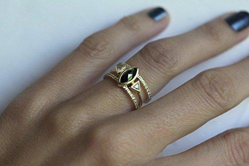 Turquoise Diamond Ring Turquoise Engagement Ring Turquoise Wedding