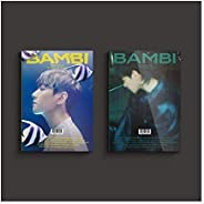 EXO Baekhyun Bambi 3º mini álbum álbum de fotos versão aleatória capa CD + 1p pôster + 2p pôster dobrável + li