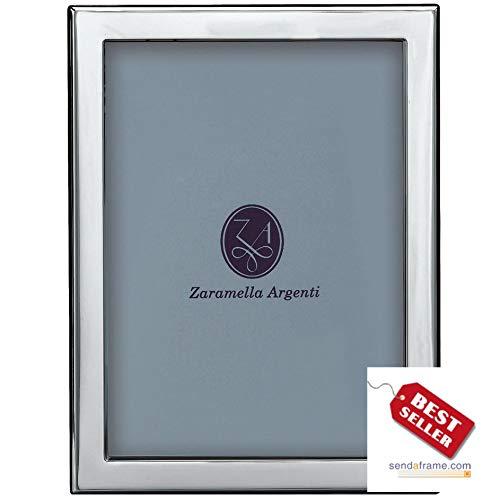 - LONDON - an engraving favorite - in pure Italian sterling silver by Zaramella Argenti® - 8x10