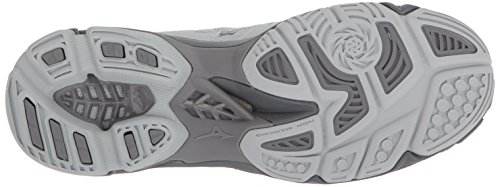 Mizuno Women's Wave Lightning Z4 Volleyball Shoe Grey choice cheap price nXBVkT