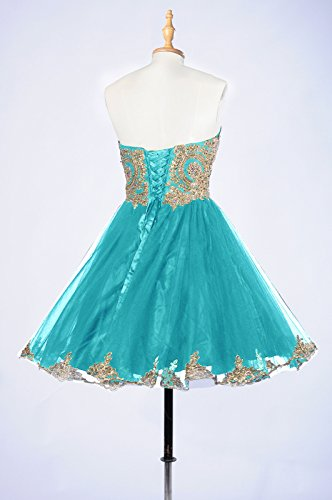 Sparkly Prom Affordable Turquoise Homecoming Prom 99Gown Dress Dresses Short Dresses Lace Beautiful xCqU4wFBgn