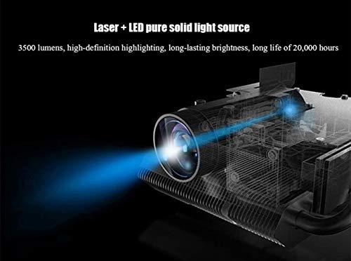 XUNMAIFPT Full HD Proyector, Micro Laser Projector HD Home ...
