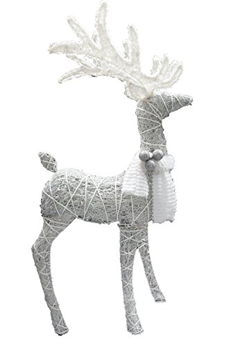 Celebrations 50503-71 Standing Deer Led Yard Art, Wood/fabric,48'' by Celebrations
