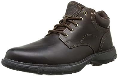 Timberland Men's EK Richmont Plain Toe Chukka Boot,Brown Smooth,16 W US