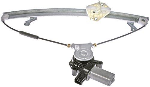 Dorman 741-307 Honda Accord Front Passenger Side Window Regulator with Motor 4 Door Window Motor Regulator