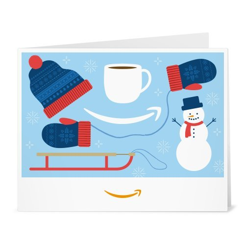 Large Product Image of Amazon Gift Card - Print - Winter Mittens