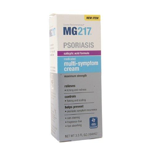 Formule Mg217 Medicated acide salicylique Multi-symptôme Cream - 3,5 once (Pack de 3)