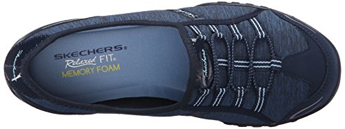 Skechers Damen Breathe-easy Allure Sneaker Blu / Azzurro