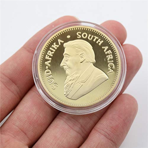 Non-currency Coins - 1pc 2016 South African Gold Krugerrand Coin Replica - Town Smd Krugerrand Africa Rav4 Zar Elephant Africa Gps Replica Replica 1oz Anime Screen Coin Chair Gold ()