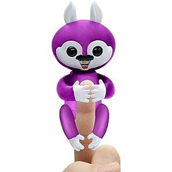 Amazon Com Fingerlings Baby Monkey Bella Pink
