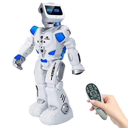 Ker-AC Robot de Control Remoto Inteligente con manejo en el Agua con balancín 180 °, Andar, Bailar, música, interacción...