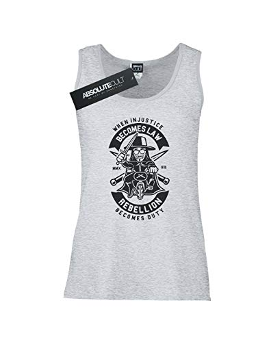 Rebellion Mujer Gris Becomes Mangas Sin Deporte Duty Drewbacca Camiseta 6pqxwd5Z8