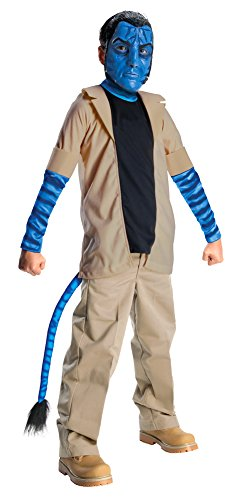 Kids-Costume Avatar Jake Sulley Child Lg Halloween Costume - Child Large