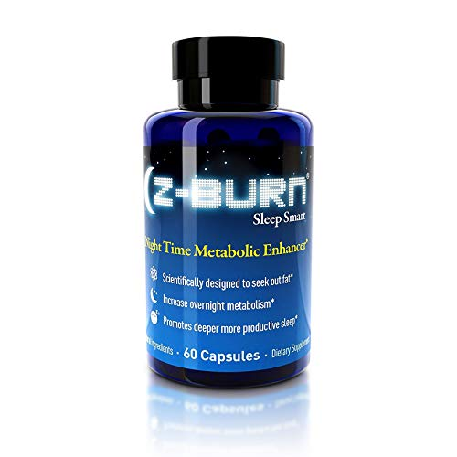 "Z-Burn- 60 Capsules – Night Time Fat Loss Supplement -""Sleep Great, Lose Weight!"" Better Sleep, Fat Loss, Muscle Recovery, Curb Cravings – Guaranteed Results"