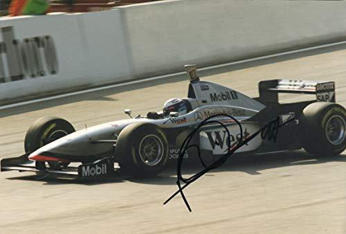 (Mika Häkkinen McLaren FORMULA 1 autograph, signed photo )