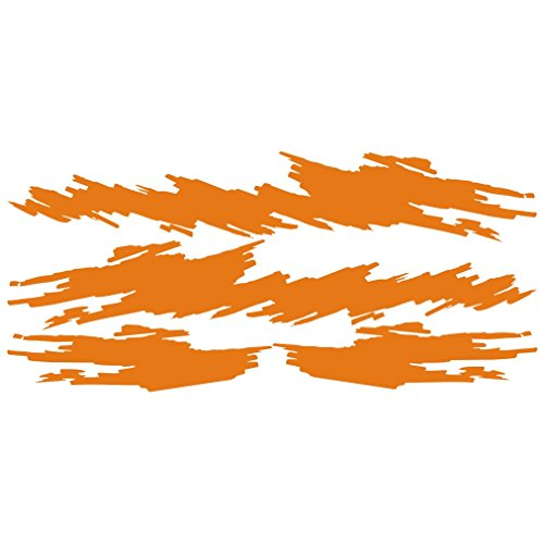 lepni.me 3046_O Pegatina para el Coche rasguños Tatuajes (Orange)
