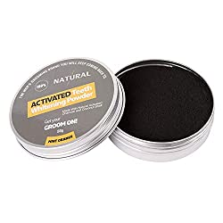 All Natural Teeth Whitening Powder with Coconut Activated Charcoal - Organic Safe Effective Tooth Whitener Solution for Stronger Healthy Whiter Teeth Yiitay