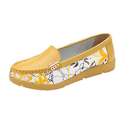 Fheaven Women Flats Shoes Slip On Comfort Shoes Flat Shoes Loafers
