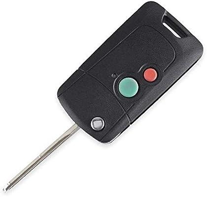 2 x Proton Car Key Wira 415 416 Persona Right Blade 2 Button Shell//Case//Fob