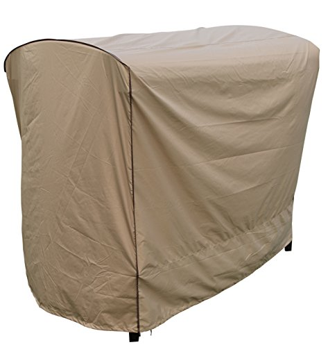 SORARA Swing Chair Cover Outdoor 3 Triple Seater Hammock Swing Glider Canopy Cover, All Weather Protection, Water Resistant, 80
