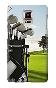 S0067 Golf Case Cover For Samsung Galaxy Note 4