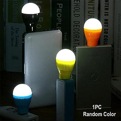 Xpccj 5W USB LED Bombilla Mini Portátil Camping Emergencia LED ...