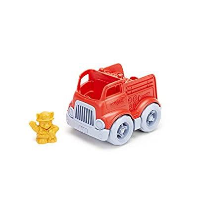 Green Toys Fire Engine: Toys & Games