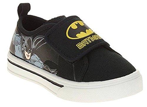 Toddler Batman Shoes (Batman Toddler Boys Canvas Casual Shoe Size)