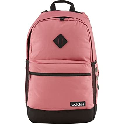 Image Unavailable. Image not available for. Color  adidas Classic 3-Stripes  Backpack - Pink f17b44fc409a3