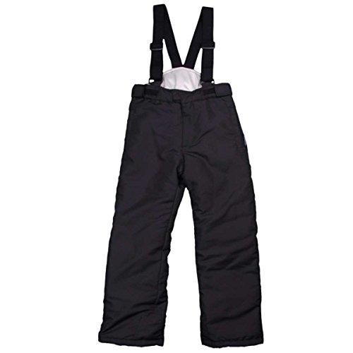 [해외]키즈 | 주니어 | 스키 웨어 BINZART 남녀 겸용 | 스키 바지 | 뽀 빠이 바지 팬츠 | 스키 아우터 바지 | 발 수 소재 | 어린이 120cm 블랙 / Kids| Junior Ski Wear BINZART Uni|