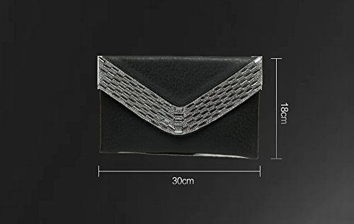Diamond Bag Temperament Dinner Bag Bag Backpack Color Evening with package a Gold Envelope Oblique Bag Classic Shoulder Hand Diamond Gold Handle CxW10qzwA