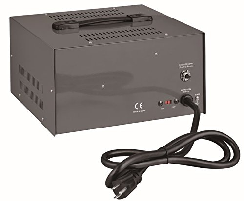 Simran 5000 Watt Step Up/Down Voltage Transformer Converter Box with Built-in Voltage Regulator for 110V-240V, Circuit Breaker Protection, VSR-5000 by Simran (Image #1)