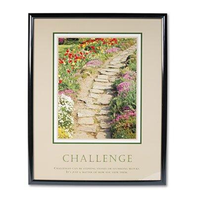 Challenge Framed Motivational Print (Challenge