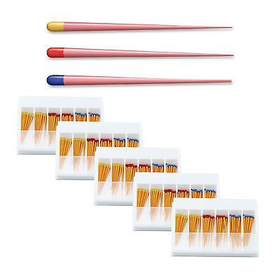 5 Box Dental Gutta Percha Points Tips For Dentsply Protaper Universal F1-F3 Size