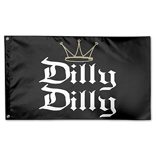 Dilly Dilly Funny Beer 100% Polyester House Flag Decorative Garden Flag Yard Banner Garden Flags 3x5