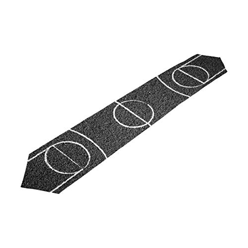 LORVIES Street Basketball Court Table Runner 13 X 90 Inch Decorative Kitchen Placemat Rectangle Table Runners for Home Coffee Kitchen Dining Table -