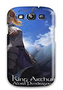 New Snap-on KathyNYoung Skin Case Cover Compatible With Iphone 5/5s- Animal Armor Bird Blondeblue Dress Fate Stay Night Lightofheaven Saber Spear