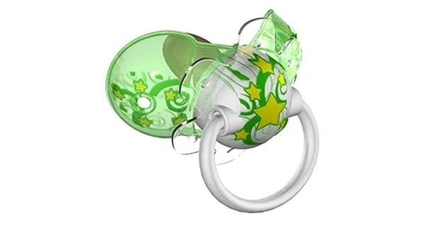 chupete Elemed Magic inteligente Cereza Caucho MIS. 2 Verde ...