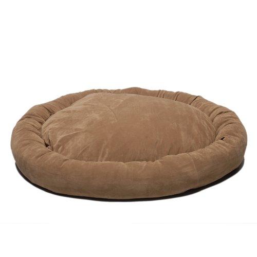Cpc Microfiber Small Bagel Bed, Brown