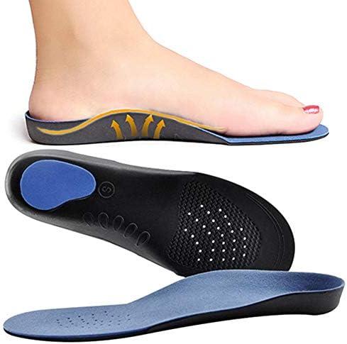 Orthopädische Einlegesohle, hohe Fußstütze, weiche medizinische Funktionseinlagen, Einsatz für schwere Flache Füße, Plantarfasziitis, Fußschmerzen, Fuß-Valgus für Damen und Herren